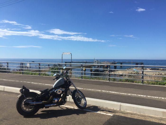日本海を望むバルカン
